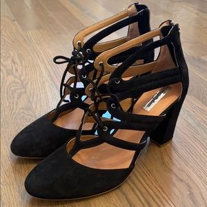 Halogen Black Heels